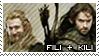 The Hobbit: Kili and Fili Stamp by immature-giraffe