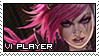 League of Legends: Vi Stamp by immature-giraffe