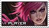 League of Legends: Vi Stamp by immature-giraffe