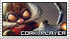 League of Legends: Corki Stamp by immature-giraffe