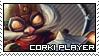 League of Legends: Corki Stamp by immature-giraffe