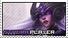 League of Legends: Syndra Stamp by immature-giraffe