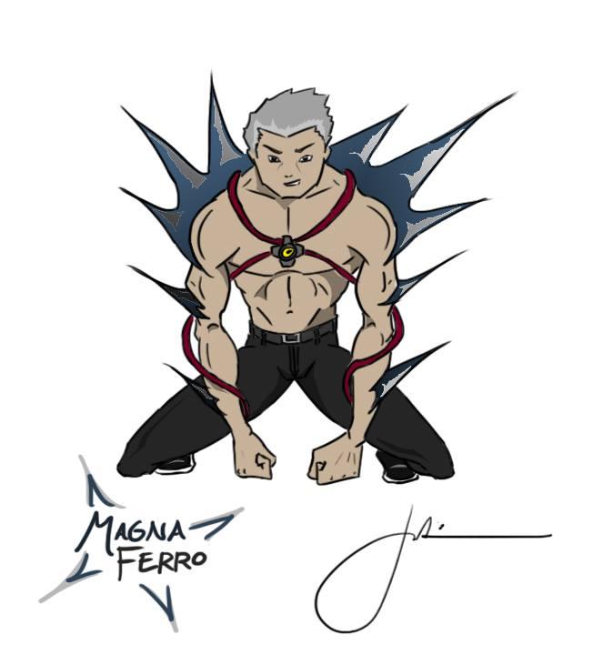 Magna Ferro by lifeisabench