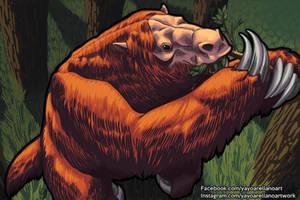 Megatherium by YayoArellano
