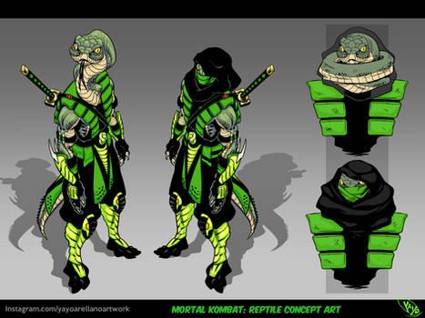 Reptile: personal concept art.