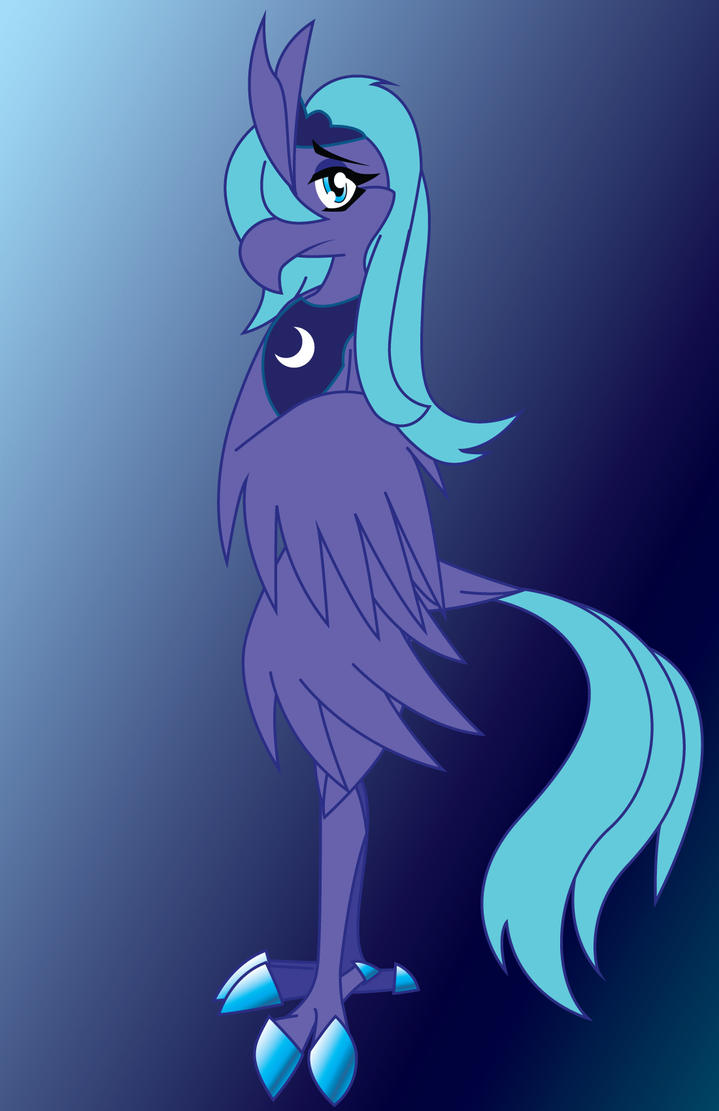 My Lil Phoenix: Princess Luna by TheLoneCrow