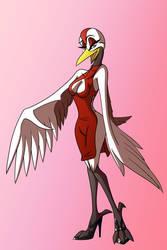 Yuriko Medley - Red Dress