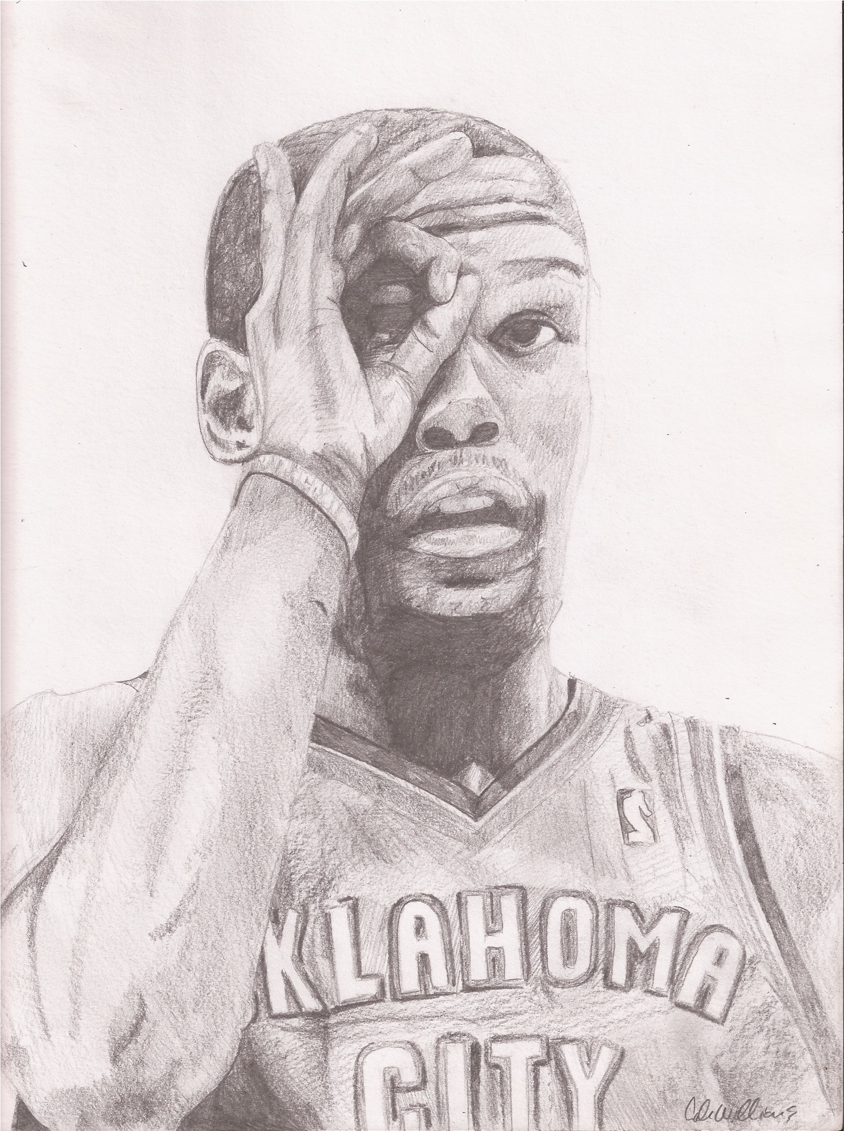 Kevin Durant Drawing Kevin Durant by Cfw11mmbs