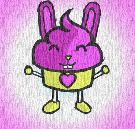 Cupcake Bunny by Enuma