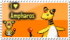 Ampharos stamp by trampe05