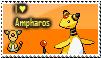 Ampharos stamp by trampe05