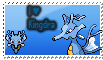 Kingdra stamp by trampe05