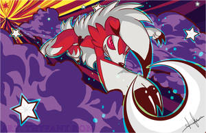 Lycanroc Moon by NearTARC