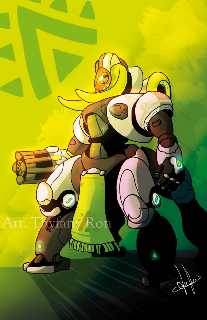 Orisa Overwatch by NearTARC