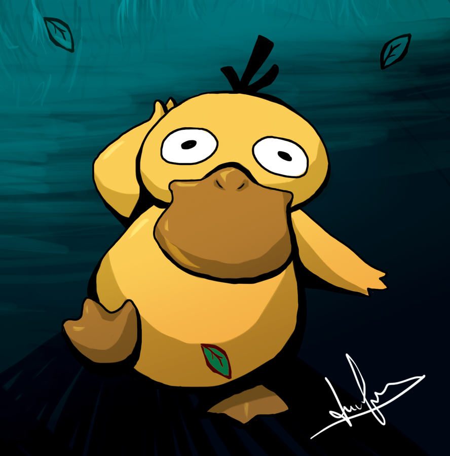 Psyduck by NearTARC