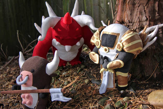 Diablo 2 Plushies - Cow from the Secret Cow Level