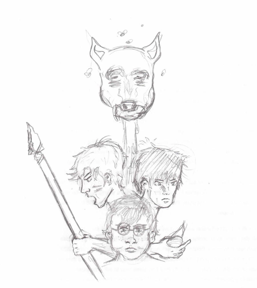 lord of the flies character sketch An explanation of the main characters in william golding's lord of the flies   character analysis the following are descriptions of all the main characters in  the.