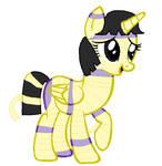 Cleoponra-the mummy pony by Strawberry-T-Pony