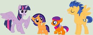 Berryverse: Flashlight Family