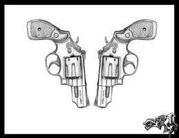 2 guns by A-T-G-4