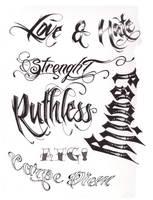 Tattoo Script 1 by StevenWorthey on DeviantArt