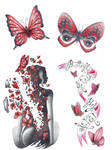butterfly flash page