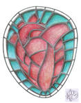 stained heart