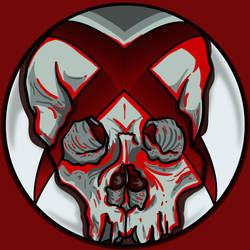 xboxSkullRed by A-T-G-4