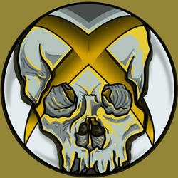 xboxSkullYellow by A-T-G-4