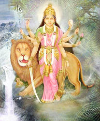 Ma Durga by Valleysequence
