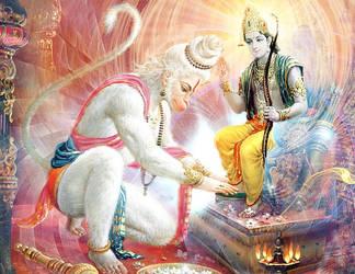 Hanuman by Valleysequence