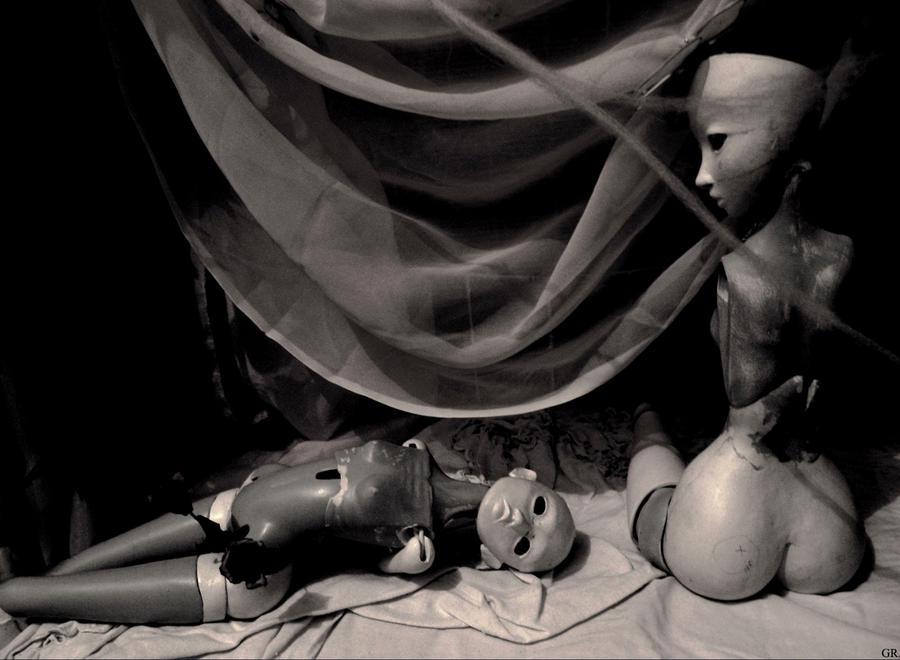 Histoire tragique sans parole by Lamollesse