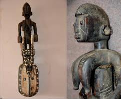 Africa masque Karan Wemba Mossi