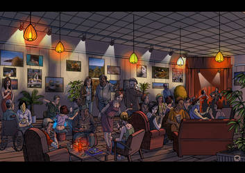 Cafe de la Paix 01 by yannou