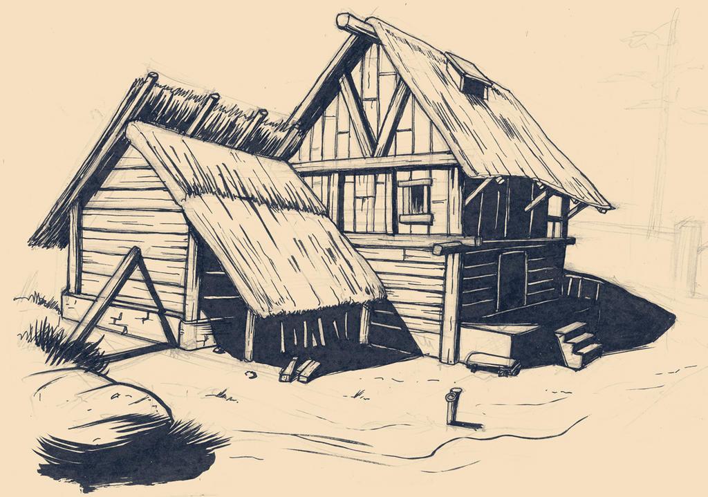 Sketchbook_farm by yannou