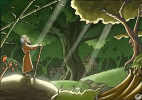 Forest Sensei by yannou