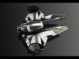 Jedi fighter Varactyl by Togman-Studio