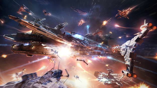 Attack of the Dreadnought - Star Conflict