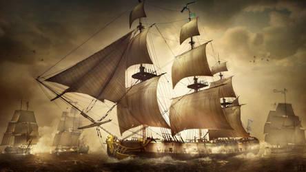 Battle of Cap Henri by Togman-Studio