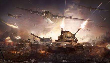 Wildcats under fire by Togman-Studio