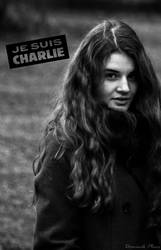 Young /Je Suis Charlie/ by DominikPlacr