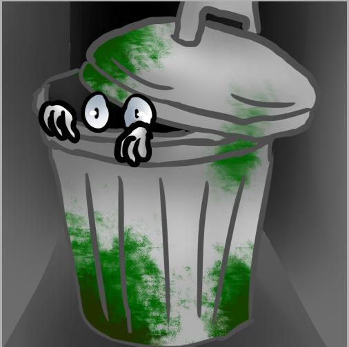 Trash by BexTheArtist