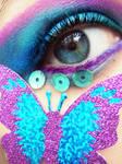Butterflies in her eyes