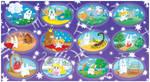 Zodiac bunnies digital by jkBunny