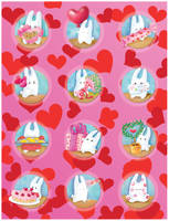 Saint Valentine's day digital by jkBunny