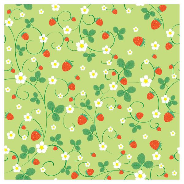 Strawberry pattern by jkBunny