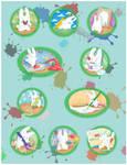 Drawing bunny digital by jkBunny