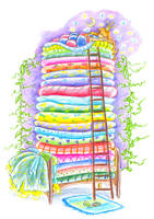 Princess and the Pea by jkBunny