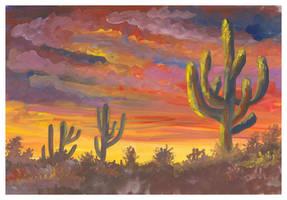 Cactuses by jkBunny