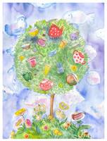 Tea tree by jkBunny